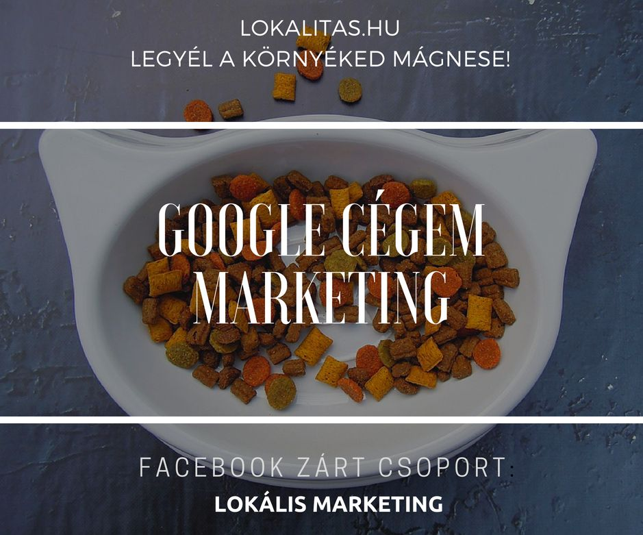 Google cégem marketing